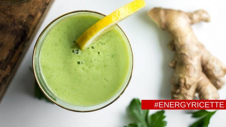 Frullato digestione felice - #energyricette