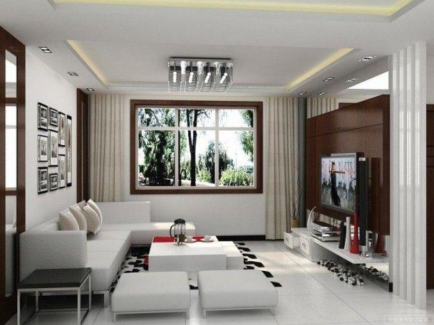 Mobili dal design moderno - Come arredare un soggiorno quadrato in stile moderno.