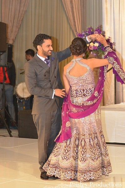 Awesome This Indian bride and groom celebrate their wedding with a beautiful reception