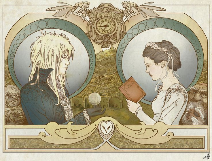 "I love ""Labyrinth."" I absolutely love David Bowie in that film; I don't care how odd he looks. I have the book, know the goblin king's name (and Sarah's stepmom's unofficial name), and what Jareth's last speech to Sarah meant."