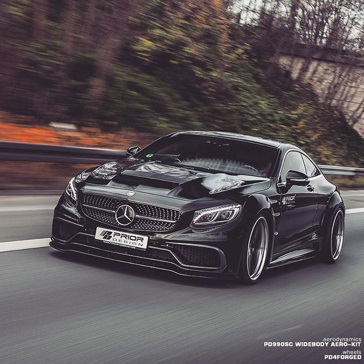 "4,193 Likes, 15 Comments - Best Mercedes Amg's Supercars (@amgbuzz) on Instagram: ""S Class Coupe by Prior Design: HOT or NOT? --> Follow @amgbuzz @jagsbuzz for More Epic Supercars…"""