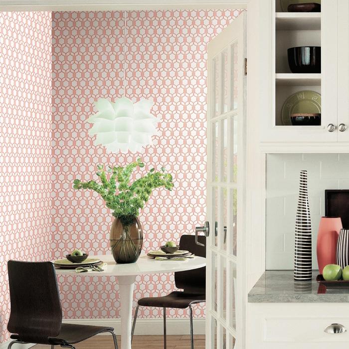 "Neutral Trellis Wallpaper: 42 Best ""Bistro 750"" Wallpaper Collection Images On"
