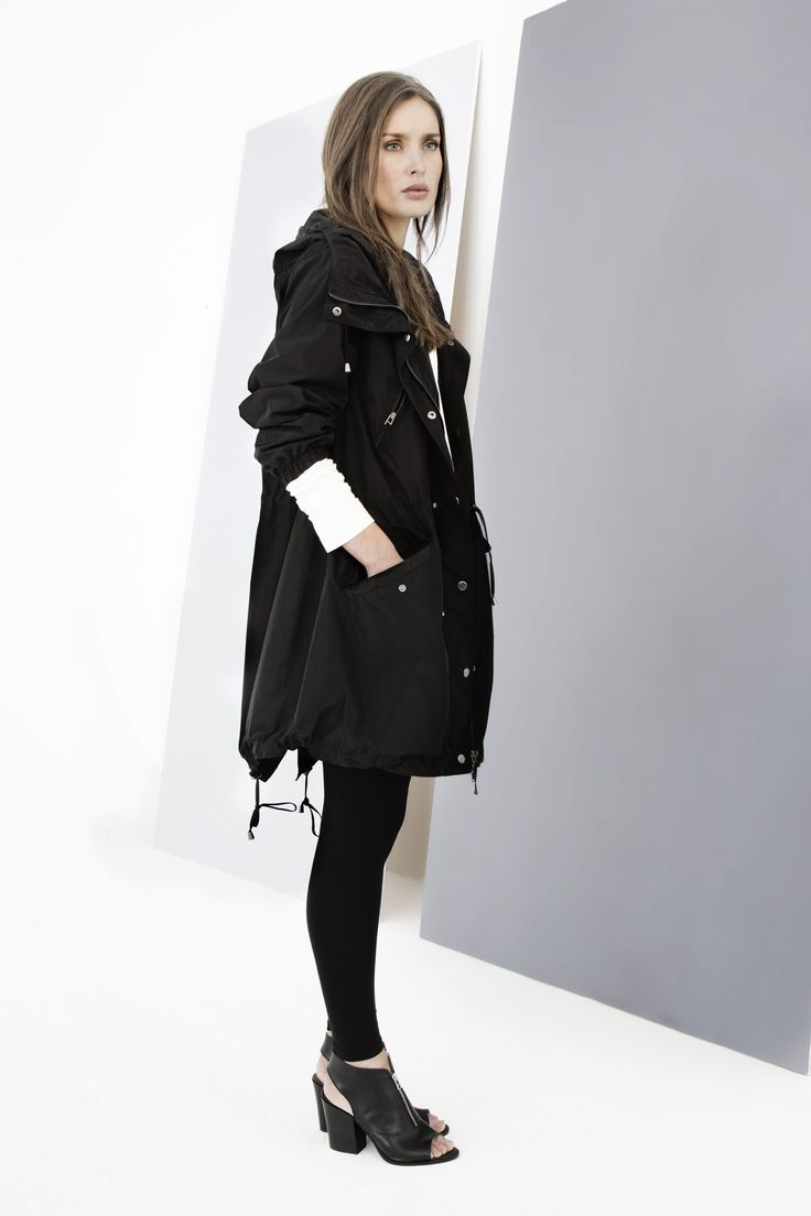 Directional, easy-wearing parka by Carolyn Donnelly The Edit