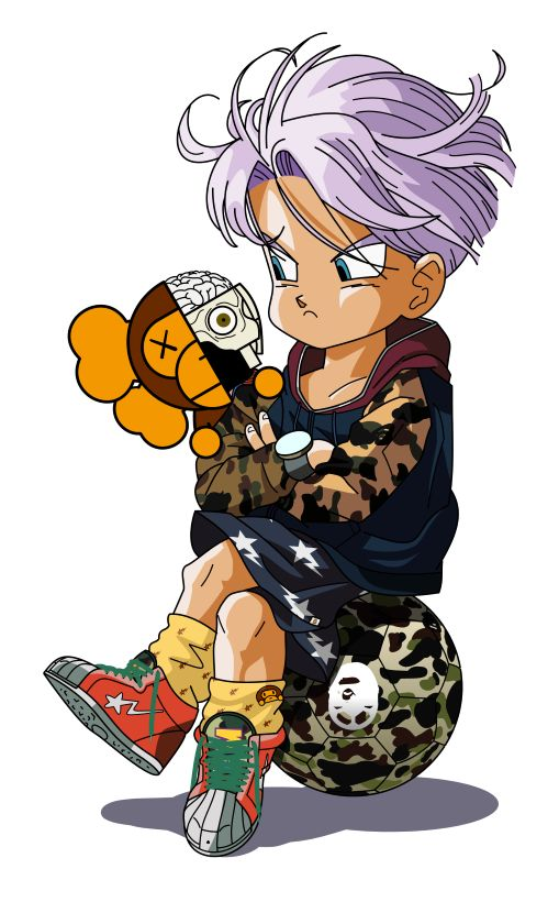 Trunks bape