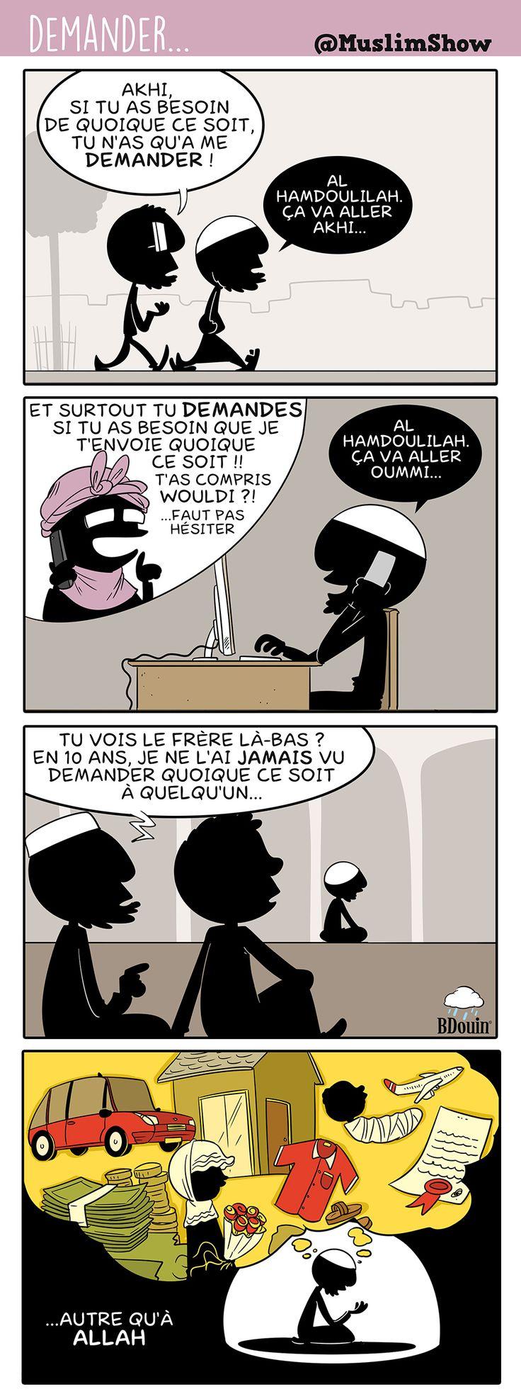 Le fait de demander à autre qu'Allah