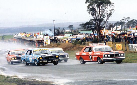 BATHURST 1971 featuring Pit Straight. v@e.