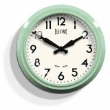 """The 50's """"Electric"""" Clock - Green"""
