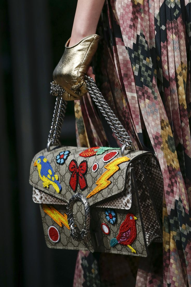 Gucci Spring 2016 Ready-to-Wear Accessories Photos - Vogue bag, сумки модные брендовые, www.bloghandbags.blogspot.ru
