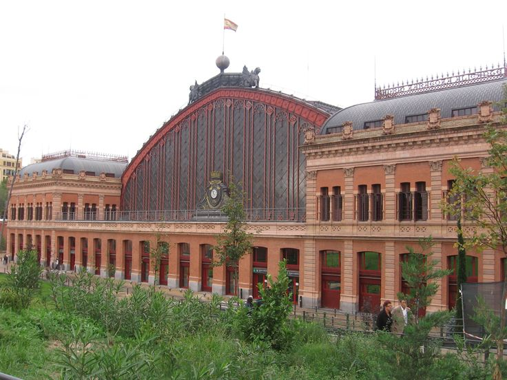 Atocha station, Madrid, MONEO  #stazione #station