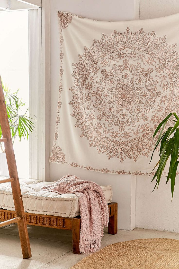 Urban outfitters bedroom tapestry - Folklorica Medallion Tapestry