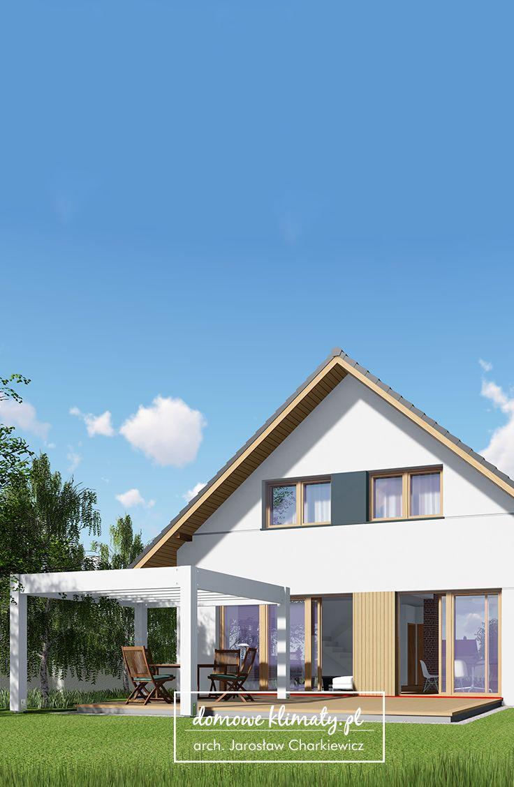 Projekt domu z poddaszem użytkowym i garażem wielostanowiskowym o szerokości 6,35m. Akord VIII T jest nowoczesnym domem mieszczącym się na nietypowej działce o szerokości od 17,15 m. Mimo skromnego zapotrzebowania na miejsce posiada bardzo przestronne i funkcjonalnie zaaranżowane wnętrza. Uwagę w projekcie zwraca reprezentacyjna przestrzeń wypoczynkowa. Ma kształt zbliżony do kwadratu, dyskretnie usytuowaną dużą kuchnię oraz jadalnię i salon sąsiadujące z przeszklonymi ścianami od strony…