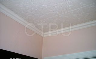 How to Cover Popcorn Ceiling With Beadboard Planks DIY | Hometalk