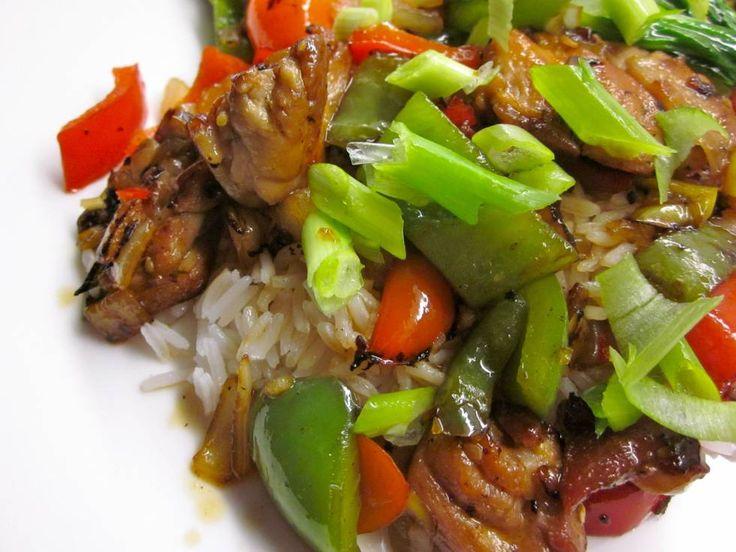 Wokken: Snelle Thaise Pittig-zoete Chili Kip recept | Smulweb.nl
