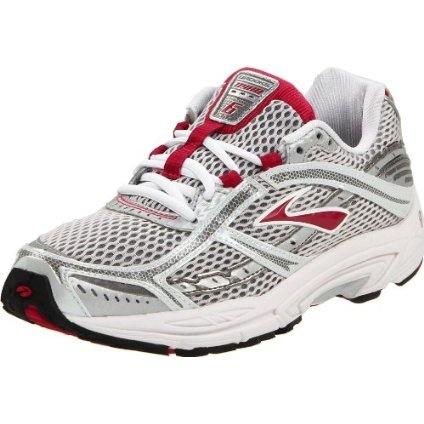Brooks Women`s Dyad 6 Running Shoe,Cerise/Metallic/Silver/White,9 W US $99.95