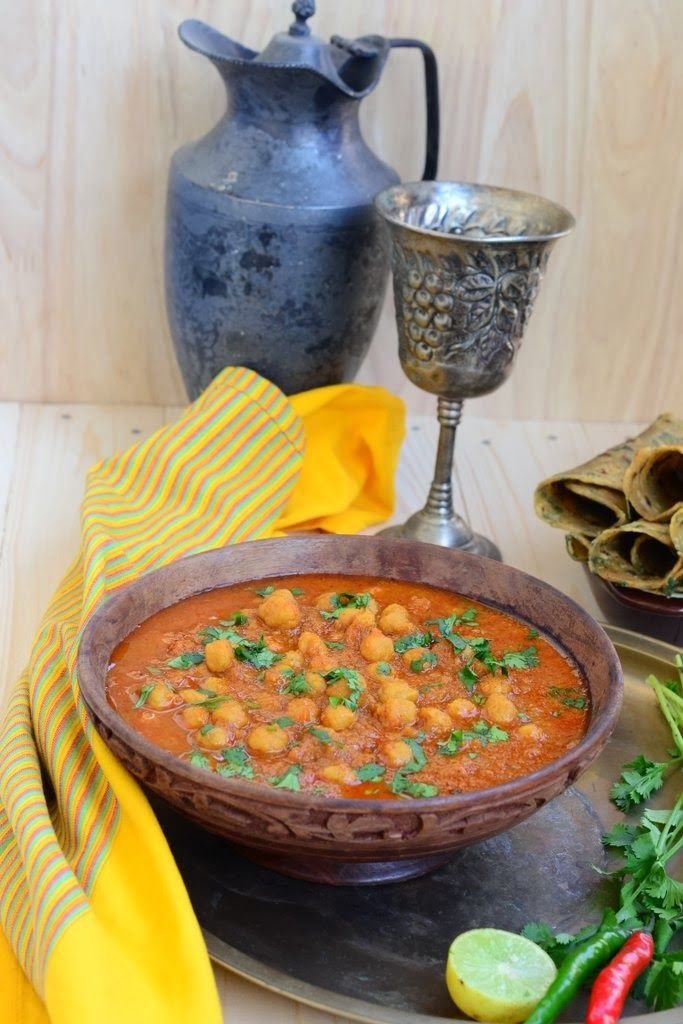 Rajasthani Ram Chane. An Authentic Indian Rajasthani recipe made with chickpea flour.