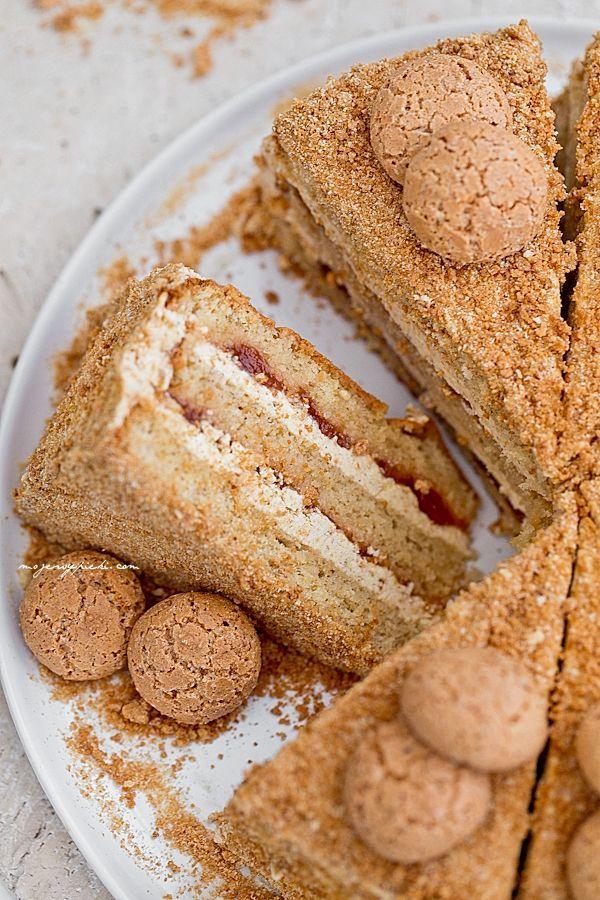 Tort makaronikowy Amaretti