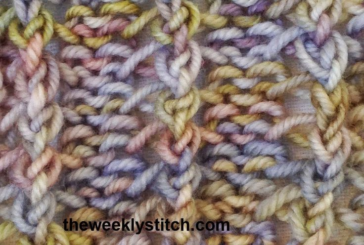 Herringbone Knit Stitch Bind Off : 136 best images about KNITTING - The Weekly Stitch on Pinterest Herringbone...