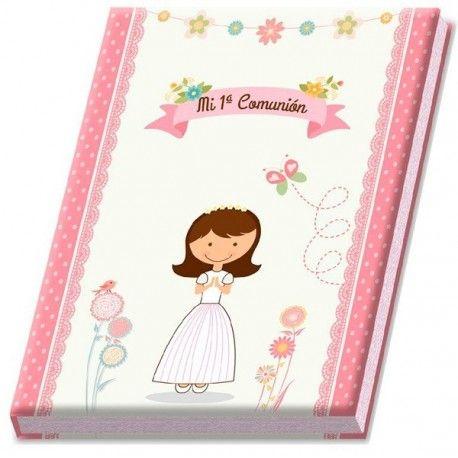 Álbum comunión niña. Detalle comunión. Estos álbumes son detalles perfectos para las comuniones.