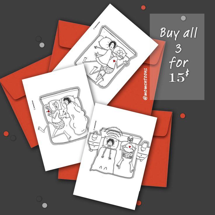 Canada souvenir card toronto card pack of 3 blank