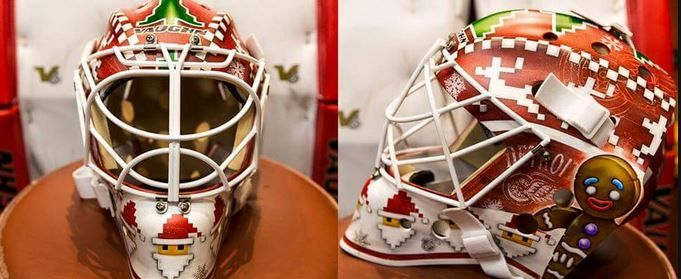 jimmy howard mask christmas - Google Search