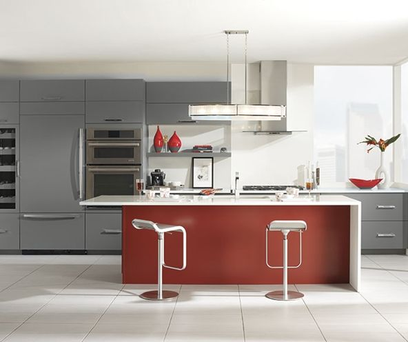 Grey And Red Kitchen Ideas: 1000+ Ideas About Red Kitchen Island On Pinterest