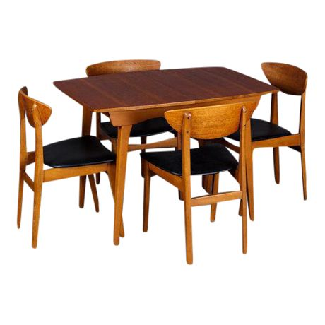 Century Modern Dining Room Chairs Black Friday Danish