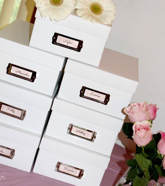Wedding Gift Box Ideas : ... gift boxes on Pinterest Brides maid gifts, Wedding bridesmaids gifts