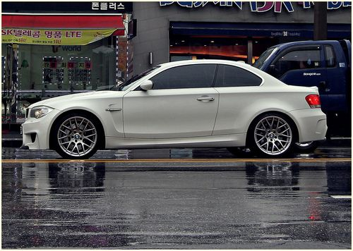 BMW 1 Series coupe - now it's called 2