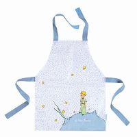 Den lille prins forklæde - Petit Jour Hvid-blå 2-5 år. Forklæder til børn og junior. Se mere på www.kitchen4kids.dk