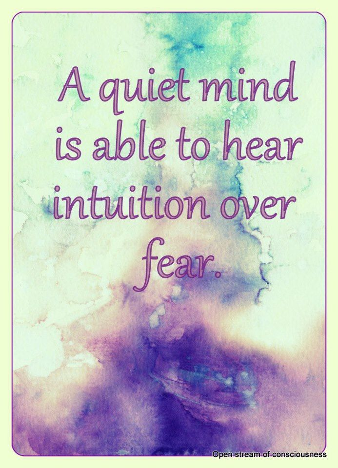 Intuition is almost like hope. And everybody who knows about the hunger games knows that hope is the only thing that stronger than fear. Listen to the positive rather than the negative for the negative hurts more, and can do more damage than intended.