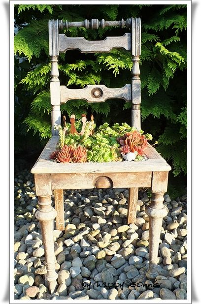 Pflanzen-Stuhl