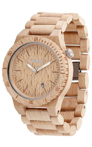 BETA BEIGE | #WeWOOD #WoodenWatches So pretty. I love it.