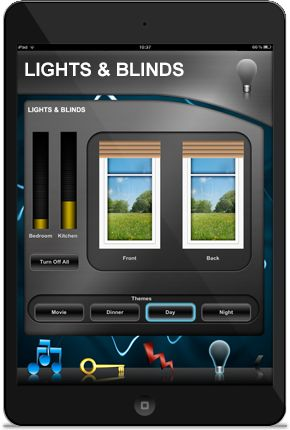 DemoControlHD for DemoPad - Lights & Blinds control