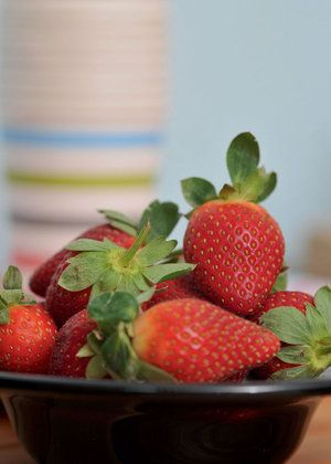 Strawberries are a big hit with kids and you could also dip them in chocolate as a healthy sweet treat.