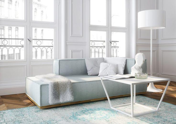 Stolik i wypoczynek z kolekcji NOI #TwojeMeble #TwójSalon #meble #kolekcja #NOI #Absynth #stylish #furniture #home #beautiful
