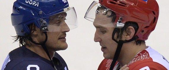 Sotchi : la Finlande élimine la Russie en quarts de finale du tournoi de hockey