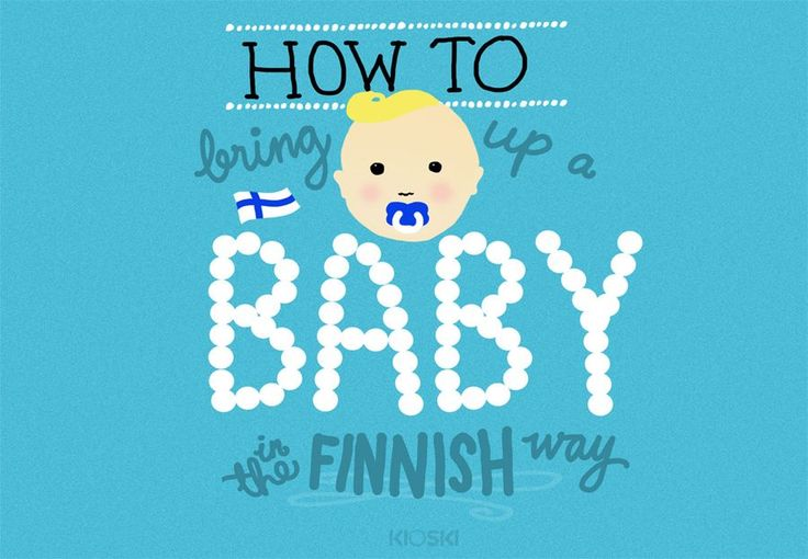 Finnish babies are frequently in the headlines, either because they sleep in cardboard boxes, or because they are taken out to sleep in freezing temperatures. We compiled a manual on how to take care of Finnish babies.