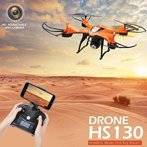NEW Quadcopter FPV HD Wifi Camera RC Drone Altitude Hold RTF One Key Return  #HolyStone