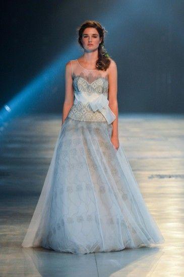 17 best David Fielden Wedding Dresses images on Pinterest | Short ...