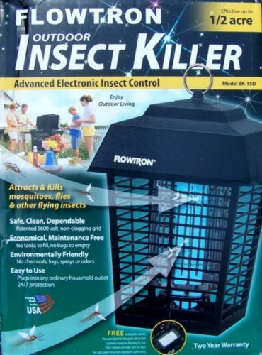 Electric-Bug-Mosquito-Zapper-Flowtron-1-2-Acre-Mosquito-Killer-Insect-Trap-Light