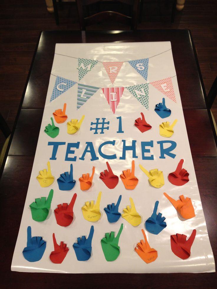 diy handmade gift ideas for teacher's day