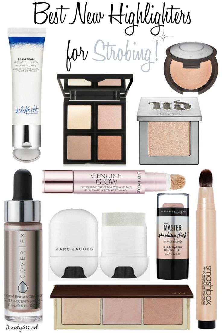 Best new highlighters for strobing!