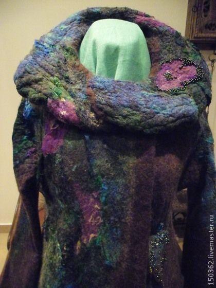 Верхняя одежда ручной работы. Ярмарка Мастеров - ручная работа пальто Autumn Queen. Handmade.