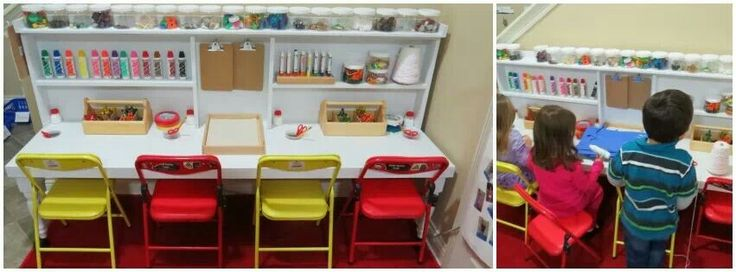 Classroom Design And Organization ~ From fb page teach preschool great desk craft center