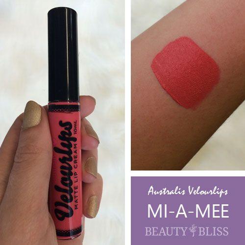 Australis VelourLips in MI-A-MEE': beautybliss.co.nz/shop/australis-velourlips-matte-cream-mi-a-mee/