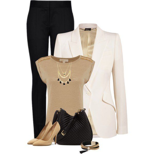 Polyvore :: business casual outfit idea