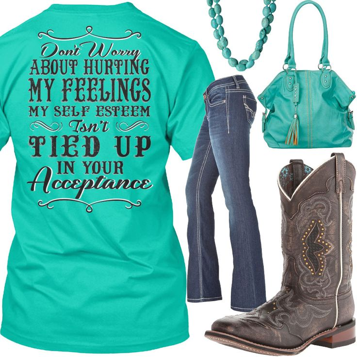 Tied Up In Your Acceptance Outfit - Real Country Ladies