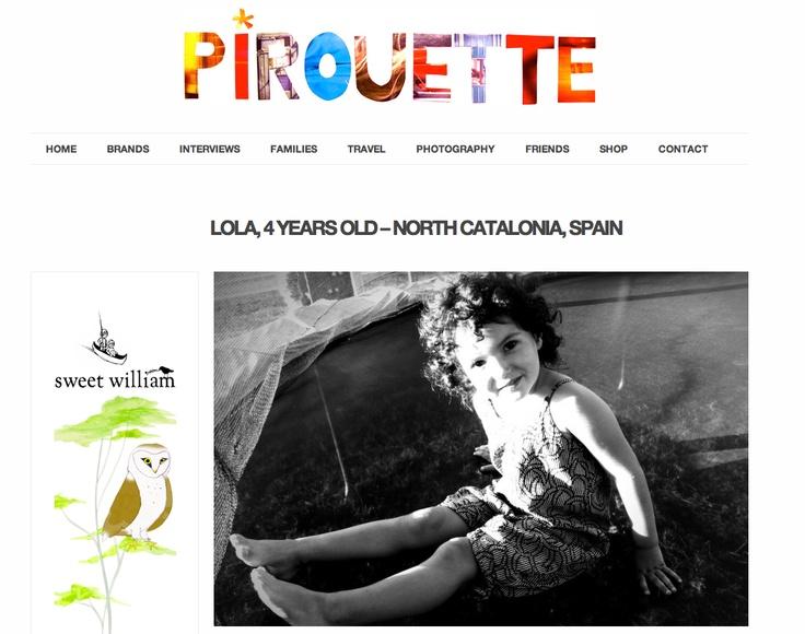 LolaForkids + Pirouette