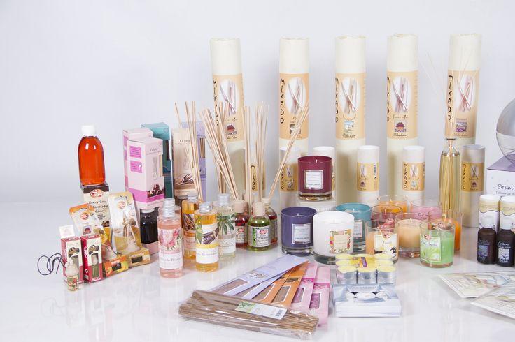 Amplia gama de productos en nuestra tienda online. #velasyolores