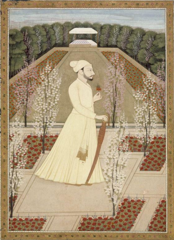 India, Himachal Pradesh, Kangra, circa 1765-1770 Raja Amrit Pal (Reigned 1757-1776) of Basohli | LACMA Collections